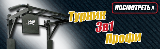 Турник Брусья Пресс 3в1 Профи до 150кг Черный