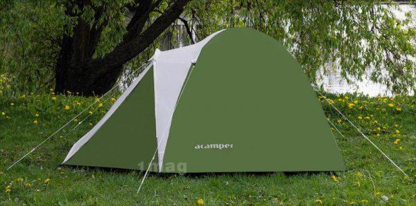 Палатка ACAMPER ACCO blue 2-3-4 местная 3000 мм/ст sportmax.by