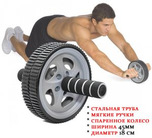 Ролик для пресса sportmax.by