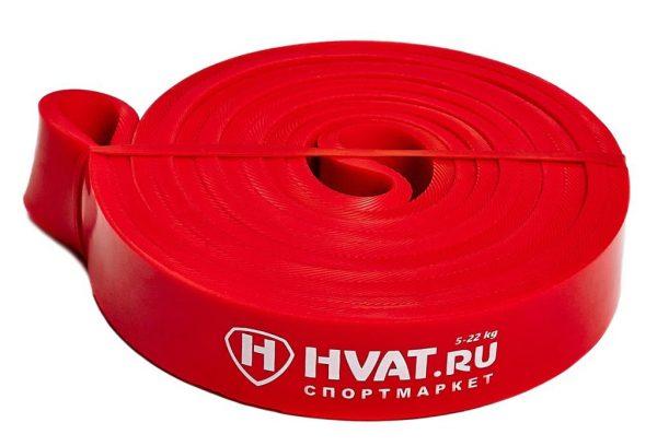 Красная резиновая петля 5-22кг Hvat Sportmax.by