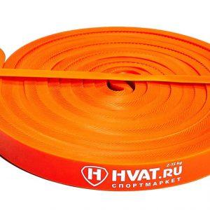 Оранжевая резиновая петля 3-15кг Hvat Sportmax.by