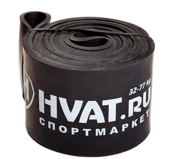 Черная Резиновая петля 32-77кг Sportmax.by
